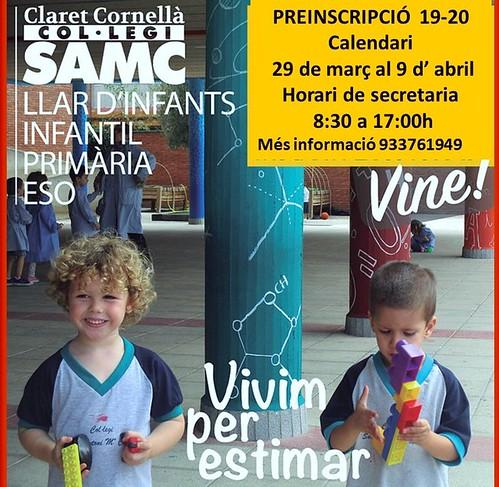 Preinscripció | by Col·legi SAMC
