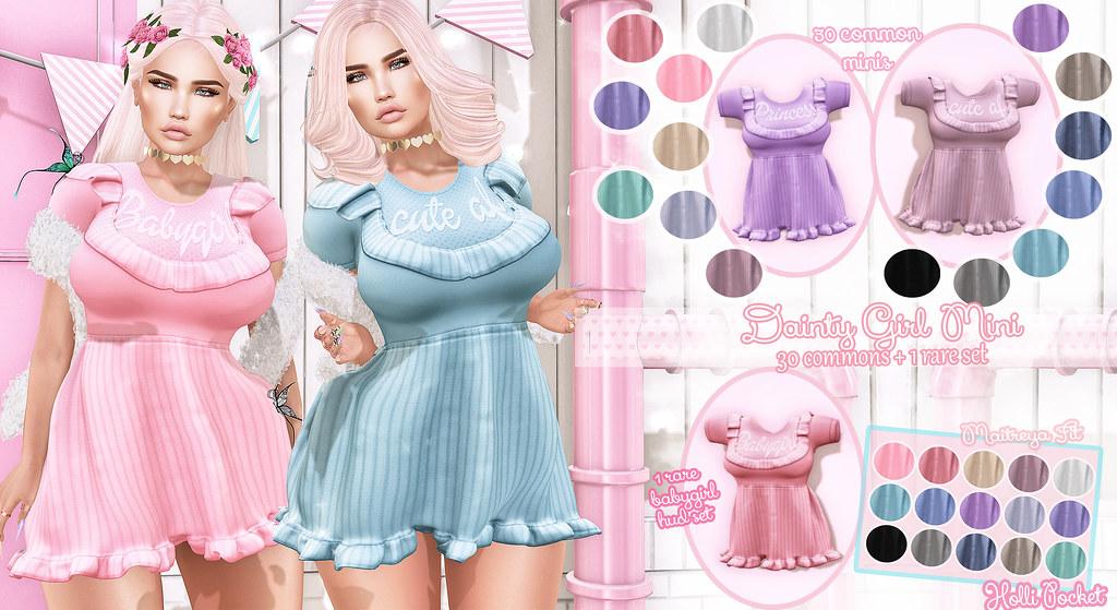 HolliPocket-Dainty Girl Dress Ad