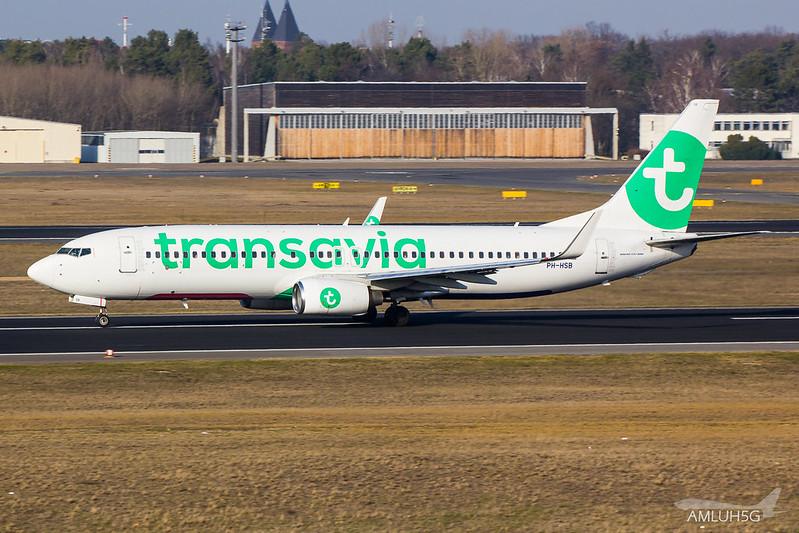 Transavia - B738 - PH-HSB (1)