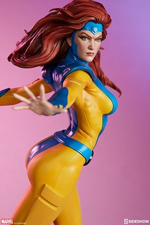 令人懷念的復古戰衣! Sideshow Collectibles Premium Format Figure 系列 Marvel Comics【琴·格雷】Jean Grey 1/4 比例全身雕像作品 普通版/EX版