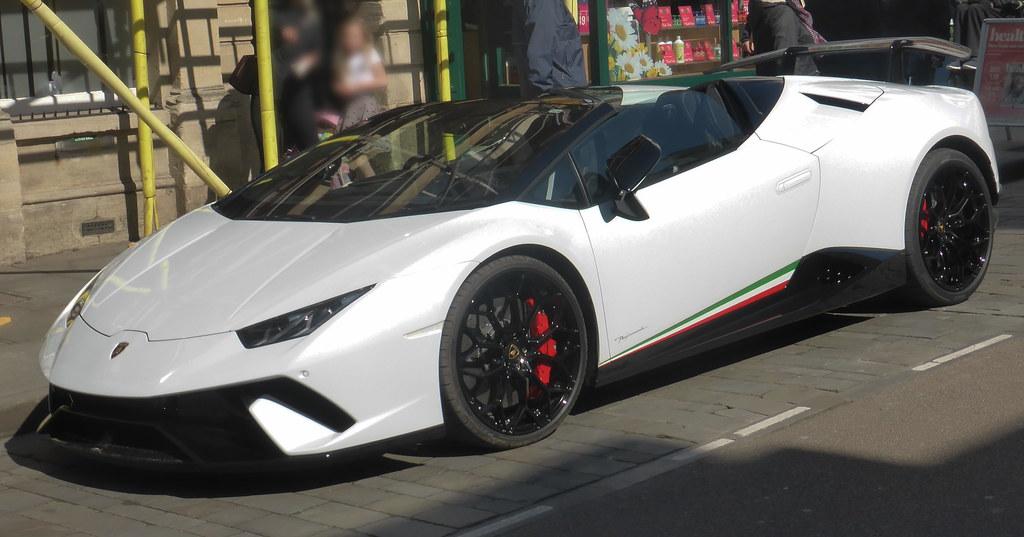 Lamborghini Huracán LP 640-4 Performante Spyder (2019)