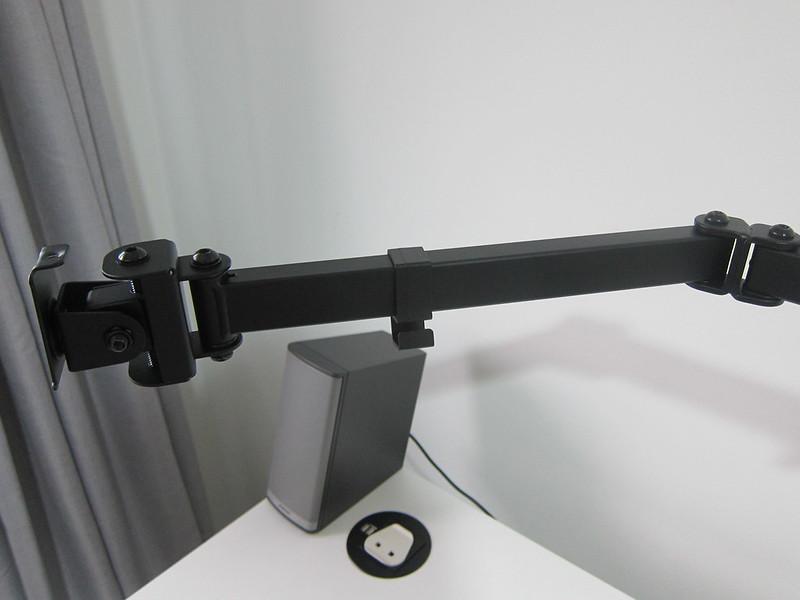 PRISM+ Vantage Triple Monitor VESA Monitor Arm - Left Extended Arm