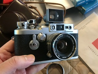 Leica IIIG with W-Nikkor 35mm f 1.8 Ltm | by KEVIN is listening Begin......
