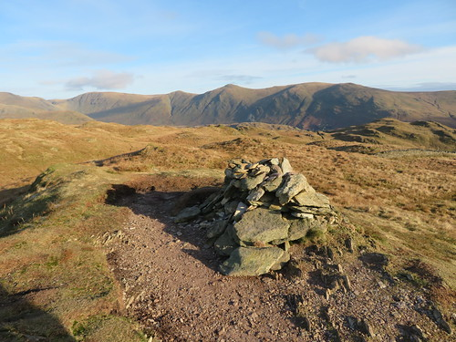 25 - High Street and the Kentmere mountains from Baystones   by samashworth2