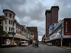 Street in the center. Pretoria, South Africa