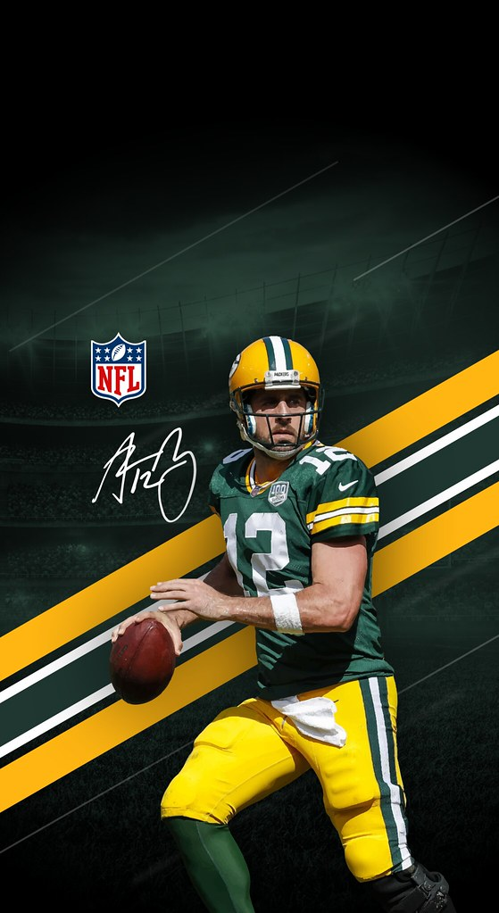12 Aaron Rodgers Green Bay Packers Iphone X Xs Xr Wallp