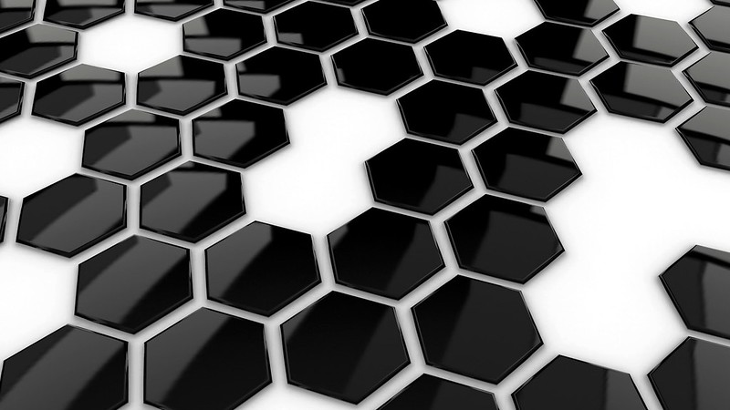 Обои черный, точки, белый, форма, поверхность картинки на рабочий стол, фото скачать бесплатно