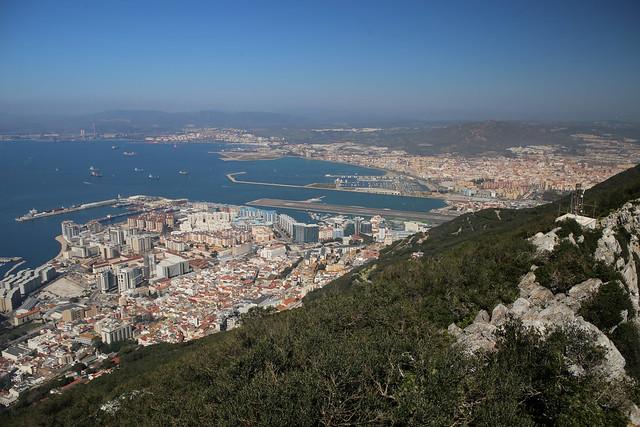 Gibraltar Upper Rock and East Side
