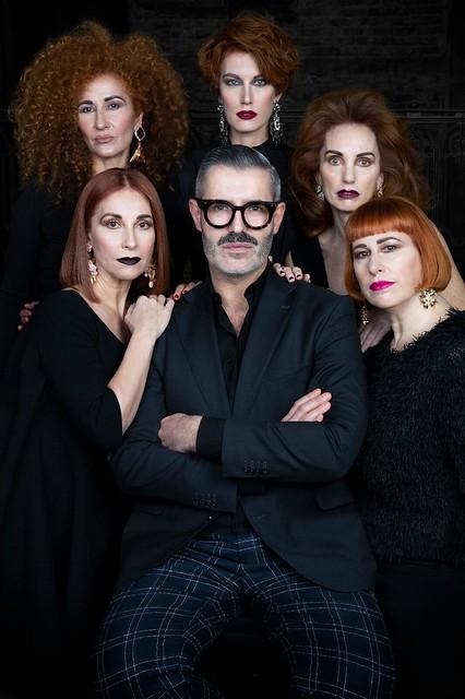 Isaac Salido , el arquitecto del cabello