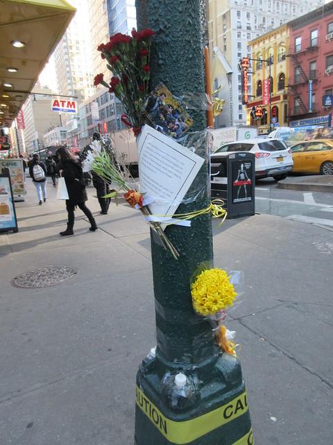 Bicyclist 72 killed in Manhattan hit-and-run Memorial 1044