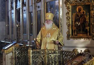 17.02.2019 | Божественная литургия в Покровском соборе