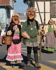 Carnival Parade Kuessnacht 2019, Canton of Schwyz, Switzerland