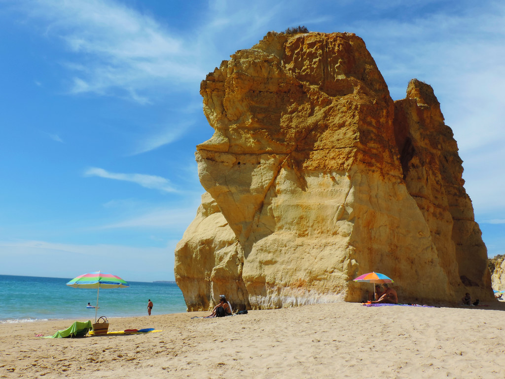 Portugal's Atlantic Coast: Praia dos Três Castelos, Algarve