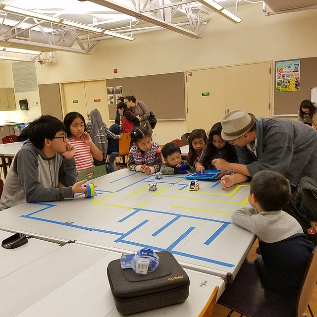 Hour of Code at Tully Library January 2019