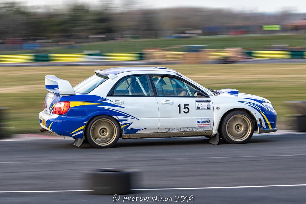 Foto do carro de Andrew Wilson