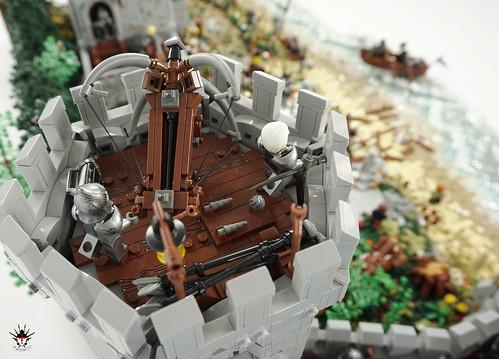 Lond Daer - Defense tower with dwarvish windlance