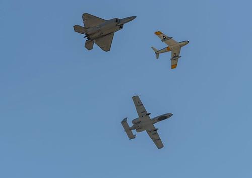 Underside of the Heritage Flight
