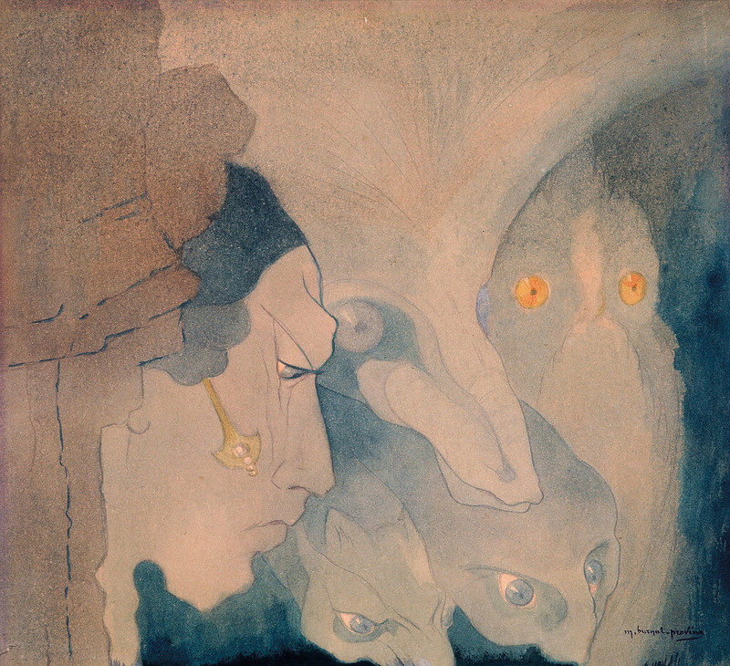 Marguerite Burnat-Provins - Beings of the Abyss, 1921,
