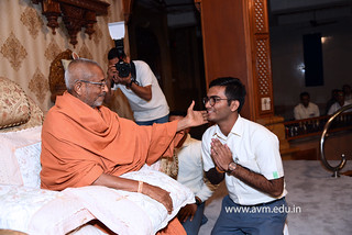 Std-10-11-12-visit-to-Haridham-for-Swamishree's-Blessings-(24) | by Atmiya Vidya Mandir