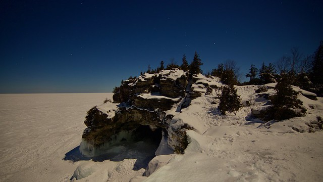 The Grotto and Indian Head full moon hike.