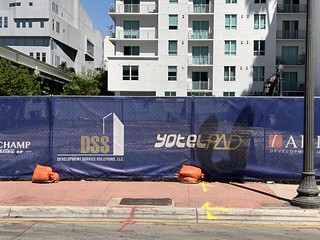 YotelPad Construction Downtown Miami | by Phillip Pessar
