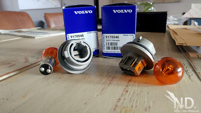 Volvo S80 2.4T OEM US Lights