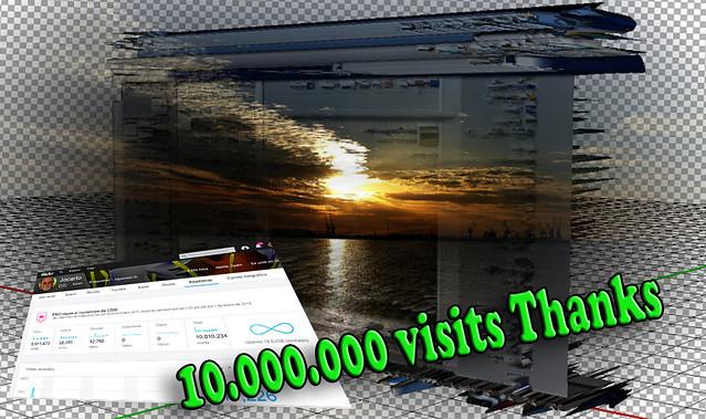 10.000.000 visits. Thks
