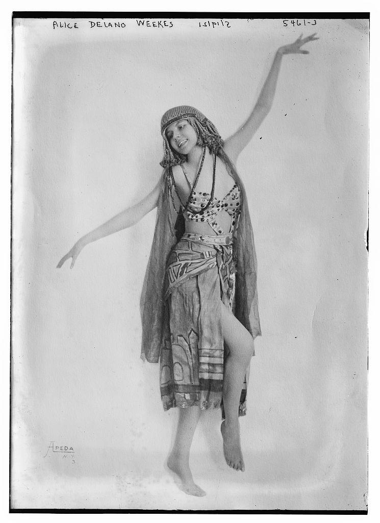 Alice Delano Weekes [dancing] (LOC)