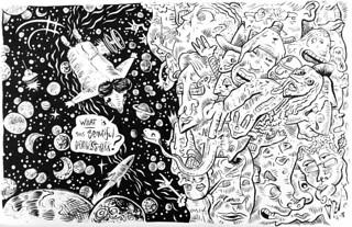 """""""Bork"""" - Artist, Zev Woskoff"""