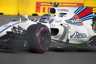 2017 Australian Grand Prix Lance Stroll Williams
