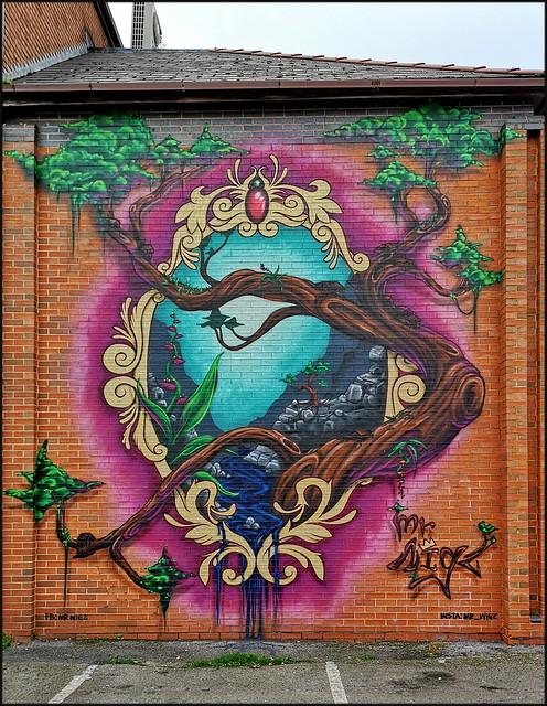 Cheltenham Street Art 1