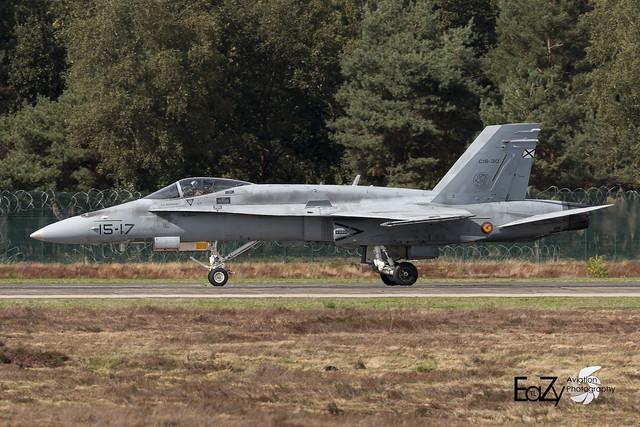 C.15-30 (15-17) Spanish Air Force (Fuerza Aerea Española) McDonnell Douglas EF-18A Hornet