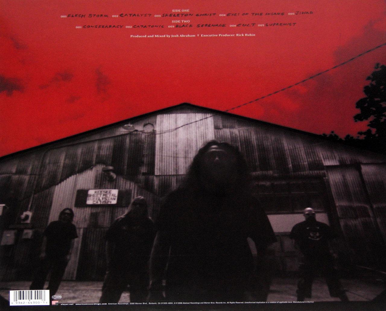 Slayer Christ Illusion Red Vinyl