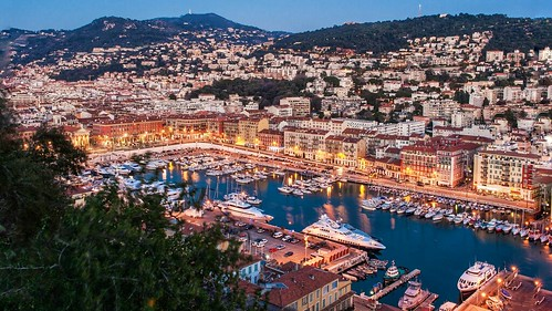 Nice Harbour at Night | by monte-leone