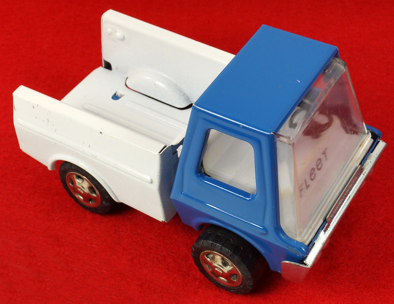 RD26760 Very Rare Fleet Truck CK Kuramochi & Co. , LTD. Japan Blue Cab White Bed DSC09022
