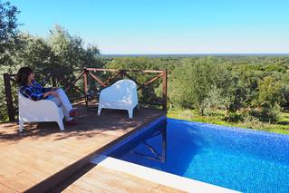 Pool and views, A Serenada, Grandola, Portugal | by BuzzTrips