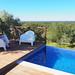 Pool and views, A Serenada, Grandola, Portugal