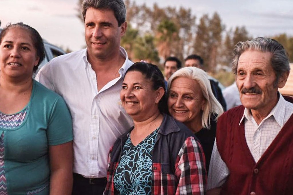 2019-03-20 PRENSA: El gobernador Sergio Uñac visitó el departamento Sarmiento