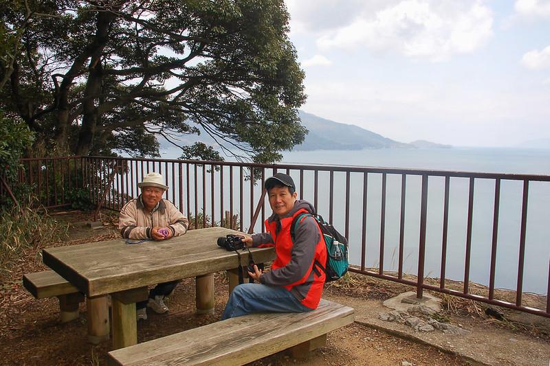 金崎公園最高點--月見御殿 2