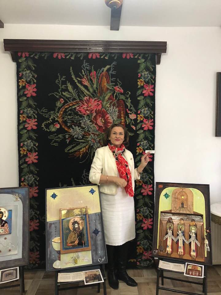 dna europarlamentar Maria Grapini in vizita la Centrul Cultural Spiritual Varatic