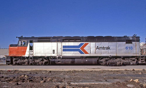amtrak amtraktrains amtrakstations amtraklocomotives sdp40f amtraksdp40flocomotives amtraksdp40f elpasotexas sunsetlimited amtrakssunsetlimited amtrakmotivepower amtraksdp40fno618