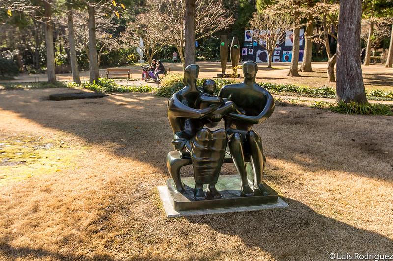 """Family Group"" de Henry Moore"