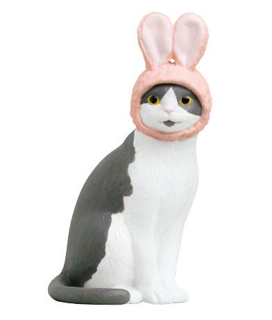 【官圖&販售資訊更新】奇譚俱樂部 「戴著頭套的貓咪」立體化轉蛋 逗趣登場!かわいい かわいい ねこのかぶりもの フィギュア
