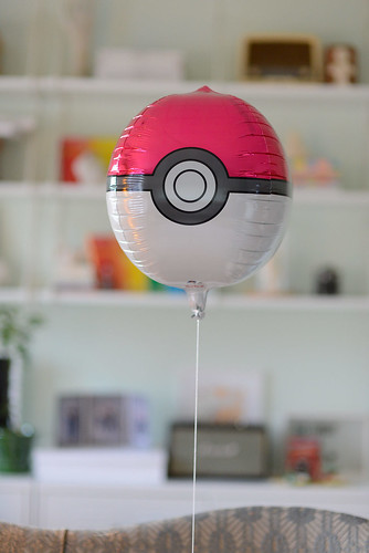 Pokemon pokeball balloon from somiana.fi | by jutta / kootut murut