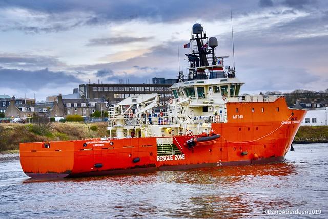 Grampian Commander - Aberdeen Harbour Scotland - 25/03/2019