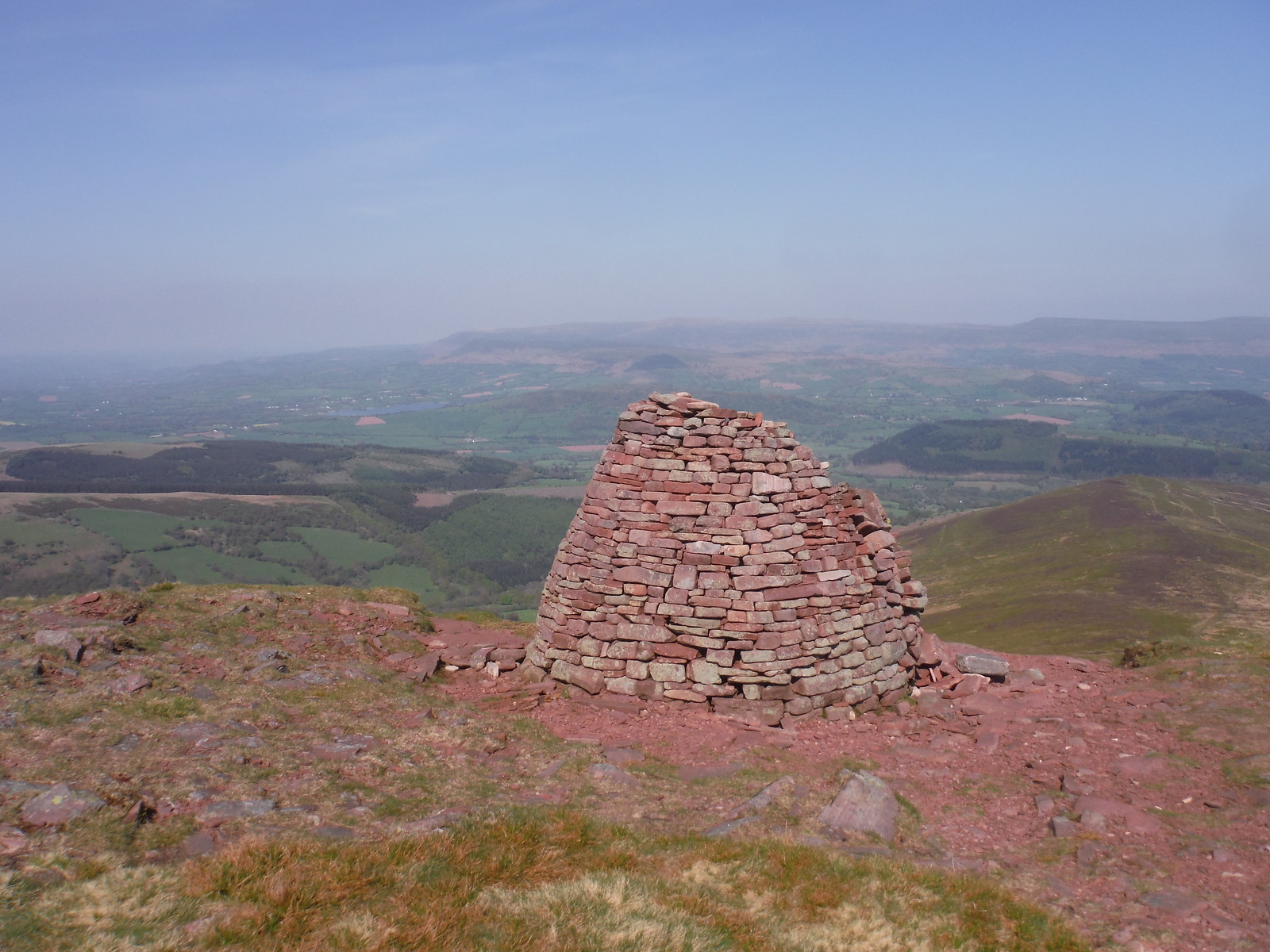 Carn Pica SWC Walk 278 Breacon Beacons Horseshoe - Bannau Brycheiniog (Descent from Waun Rydd to Talybont-on Usk )