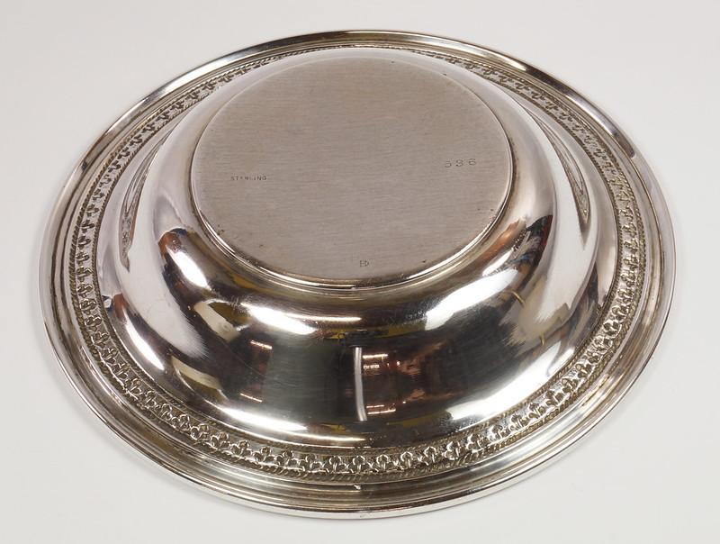 RD27847 Vintage Sterling Silver Bowl Dish 536 RD Richard Dimes 74 Grams DSC00251