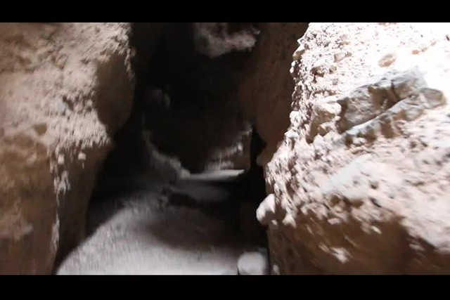 1271 Video as I hike into Slot Canyon Two in Sidewinder Canyon