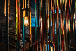 I Love this Lighting/Rebar Sculpture | by John Brighenti