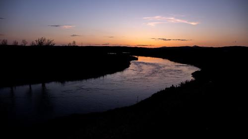 aberdeenshire kintore sunset sunrise riverythan silhouette landscape water canon canon5d eos
